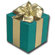 Turquoise Gift Box