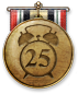 Secretly, this medal can also be earned by owning 25 clocks.