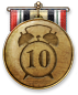 Secretly, this medal can also be earned by killing the Drive in under ten seconds.